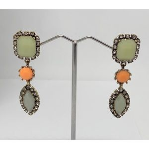 J. Crew Stone & Rhinestone Earrings